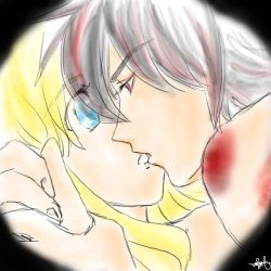 Shadow and Maria : kiss by ReNiTS
