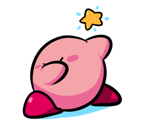 The Fun of Drawing - Kirby Dab by SrPelo