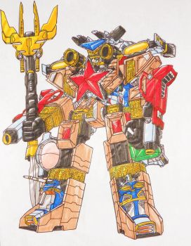 ZEO ULTRAZORD by kishiaku