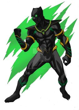 Black Panther by ShaneGreer