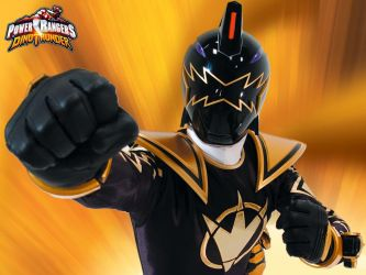 Black Dino Ranger Background by Doomwing