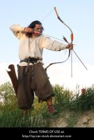 Hungarian Archer 10 by syccas-stock