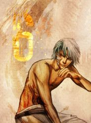 The wounded beast--grimmjow by jiuge
