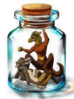 The bottle meme - with Preed and Stith by StanHoneyThief