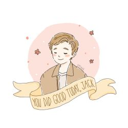 You did good today, Jack. by iiping