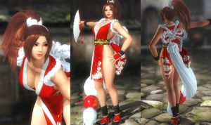 (RELEASE) KOF MAI - DOA5LR VERSION by huchi001
