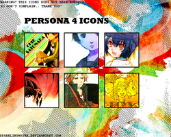 persona 4 icons by sparklingwater