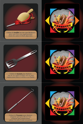 Barbecue - Accessory Cards 4 / 4 by XavierLardy