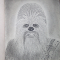 Chewbacca drawing by NenaWholock11B