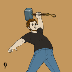 Mjolnir is mine by yoctoparsec