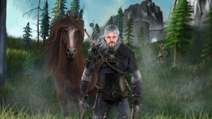 Witcher 3 feat. Gronkh Fan Art by nette2301