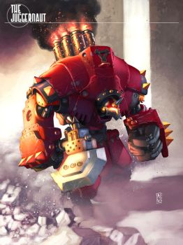 warmachine_Juggernaut by AdmiraWijaya