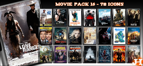 Movie Pack 16 - 78 Icons by jake2456