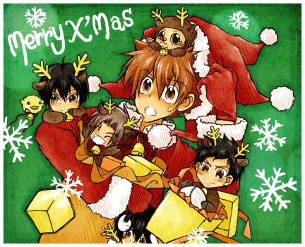 KHR : Merry Christmas by kim57n