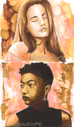 Marker Studies + Product Review by sambeawesome