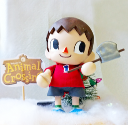Animal Crossing Villager custom munny by coffeejelly