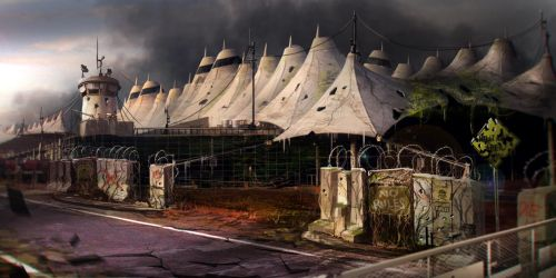 Ruined Denver Airport by Ultragriffy