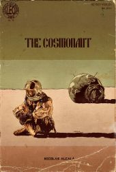 The Cosmonaut, The Pulp Cover by LeoluxArt