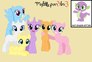 Base 5: Group Photo by MyLittlePon3Lov3