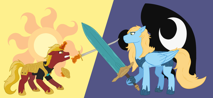 Firebrand vs Silver Tongue by metalsonic612