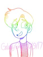 (BMC)Rainbow Jeremy Doodle by GalaxyGal-11
