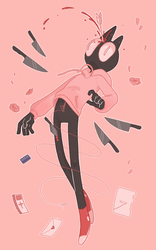 Pink room by Retrodile