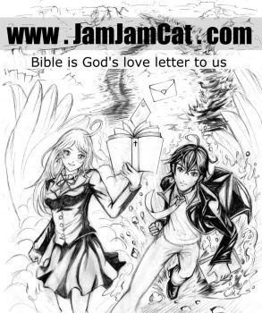God's love letter by JamJamCat