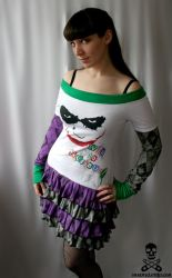 why so serious Joker Dress by smarmy-clothes