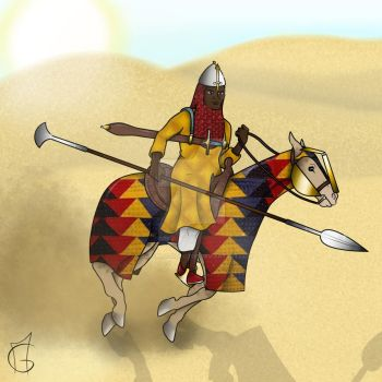 African (Soudan) Knight by CrazyBloodDoctor