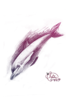 dolphin by witchpowerlove