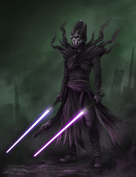 Darth Plaega by eychanchan
