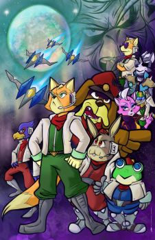 Star Fox by geeksnextdoor