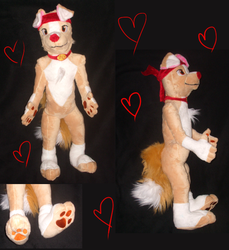 Romeo plush by Skeleion