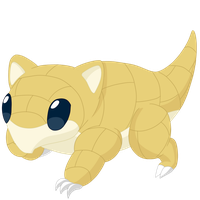 027- Sandshrew by MacabreHouse
