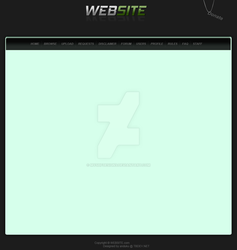 Simple Torrent Site Layout by MySHFDesigns