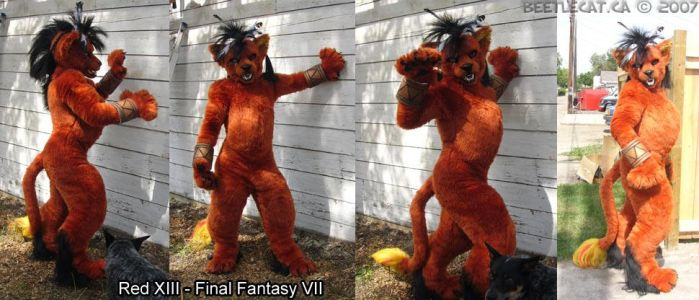 Red XIII Version 2 by Beetlecat