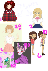 HUGE OC ADOPT SALE {points sale} 3/6 open by ucccoffee