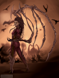 Char: The Queen of Blades by Levicopter