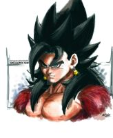 SSJ4 Vegito by Mark-Clark-II