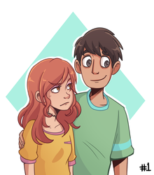 Edith and Lalo by JaelynGS