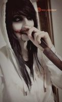 Old Jeff the killer cosplay by HazyCosplayer
