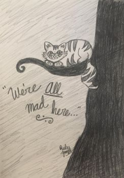 Day 12: Cheshire Cat by erbyderby24