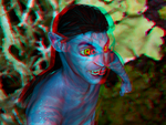 Navi WIP Anaglyph by Tkrain