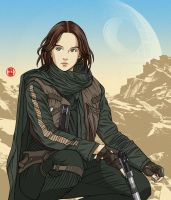 Jyn Erso by pepesalot
