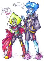 Is THAT a HUMAN?- Steven Universe+Underfell by RoboCat-RC