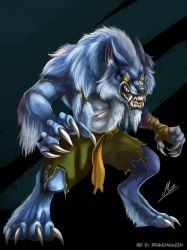 Sabrewulf concept by DrakainaQueen