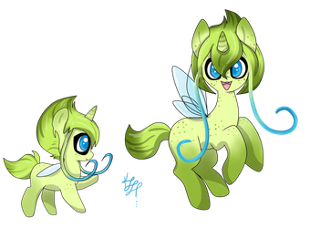 Ponymon Adopt~ Celebi (Closed) by ProjectBlastArt