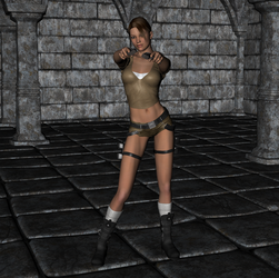 Tomb Raider - Lara Croft 3 by FatalHolds