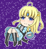 Chibi OC - Crystalia by FlameHeartxx
