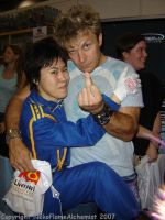 When I met Vic Mignogna by NekoFlameAlchemist